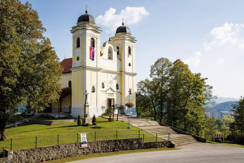 Tepelné čerpadlo v pútnickom kostole v Skalke pri Trenčíne