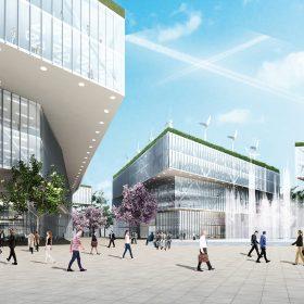 Ultramoderná štvrť Urban Tech Republic v Berlíne