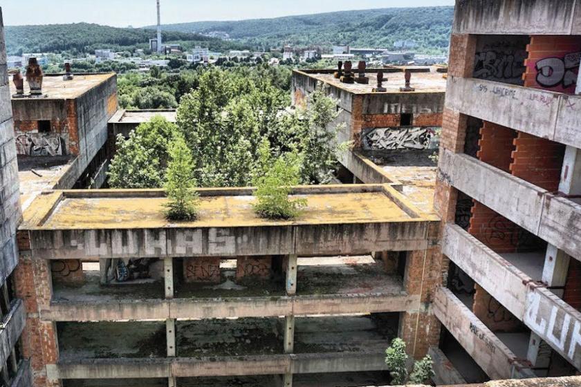 Zlá vizitka našich miest: Nedokončené stavby
