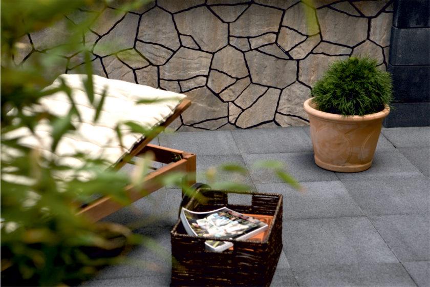 Betón v záhrade môže byť funkčný aj krásny zároveň