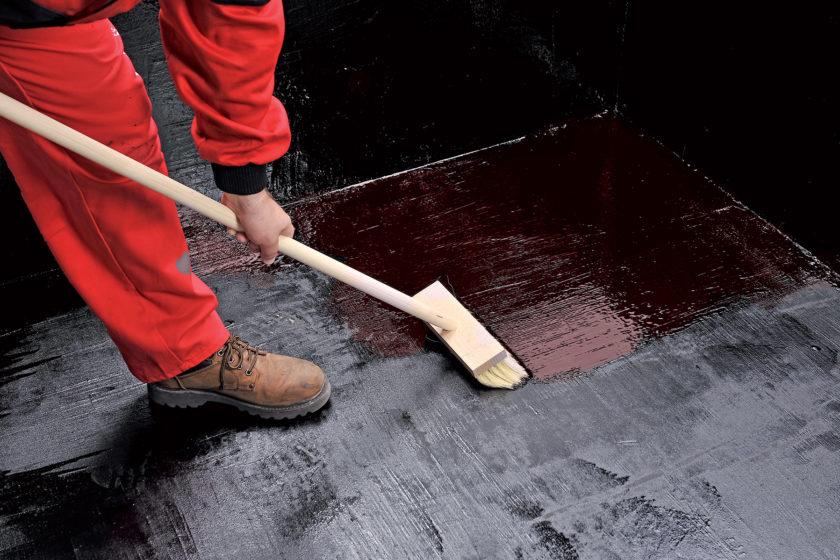 Hydroizolácia spodnej stavby pomocou gumoasfaltovej hydroizolácie
