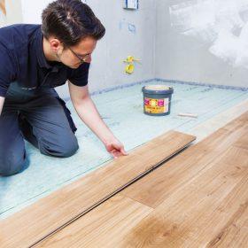 Ako bezpečne položiť drevené parkety do kúpeľne?