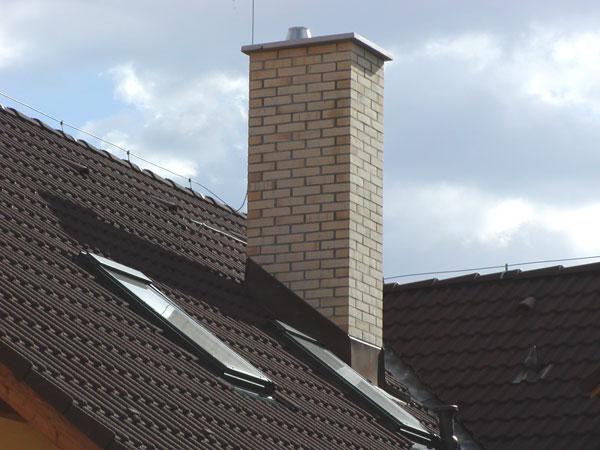 K rodinnému domu patrí komínový systém
