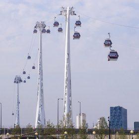 lanovka nad londynom