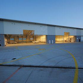 letiskovy hangar spolocnosti vip handling