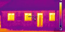 Meranie tepelných strát drevostavieb termovíznou kamerou