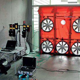 meranie vzduchotesnosti v bytovych domoch