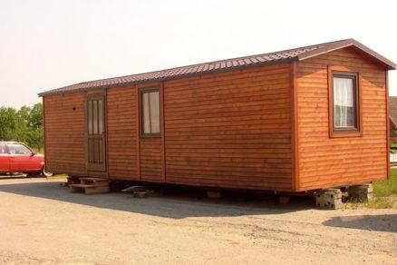Mobilné domy na báze dreva