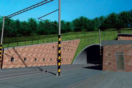 Modernizácia trate Púchov – Žilina. Tunel Diel