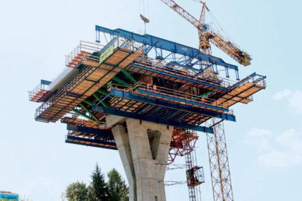 Most 206 na diaľnici – Mestská estakáda