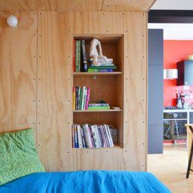 napadite riesenie jednoizboveho bytu alebo spalna v predsieni