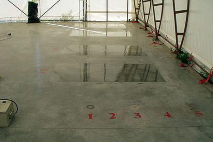 Nátery na priemyselné podlahy spoužitím nanočastíc