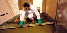 Niektoré problémy pri realizácii cementových poterov