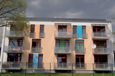 Nízkoenergetický bytový dom naOrave