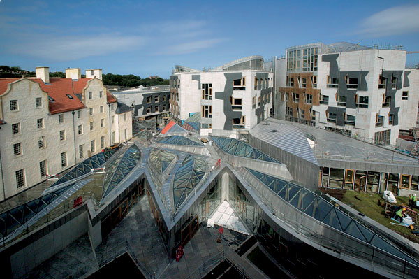 Nový parlament v Edinburghu