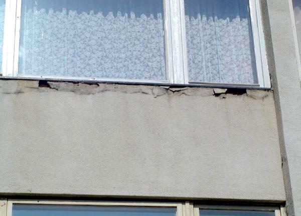 obnova bytovych domov chyby a poruchy obvodovych konstrukcii