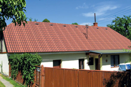 obnova strechy vikendovej chaty