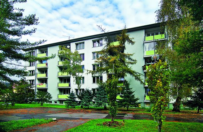 obnoveny bytovy dom odpojili sa od ctz