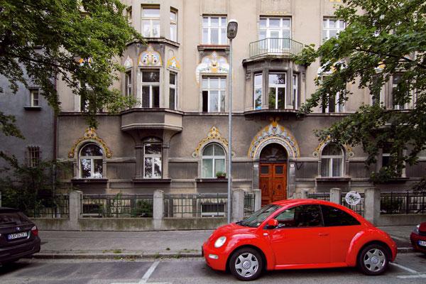 Obytný dom na Sienkiewiczovej ulici vBratislave