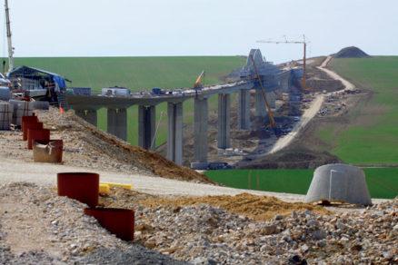 odvodnenie najdlhsieho mosta 2. useku rychlostnej cesty r1