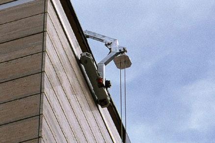 Permanentné prístupové systémy pre fasády