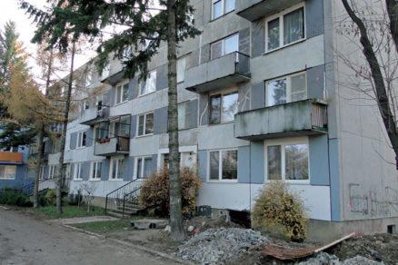 Podchytenie základových konštrukcií bytového domu vNitre