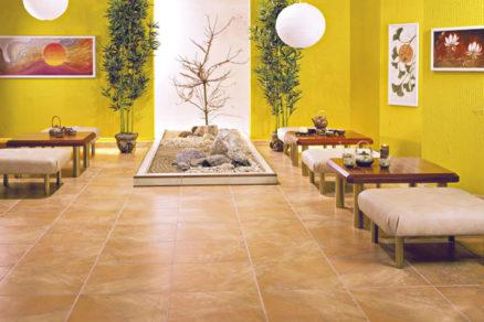 Podlaha vytvára zázemie pre architektonickú nadstavbu