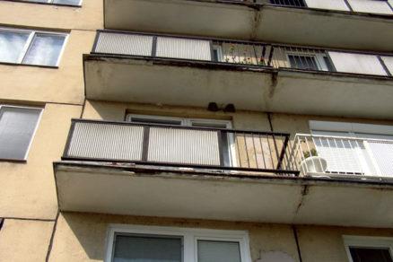 Poruchy a obnova nosných železobetónových častí balkónov