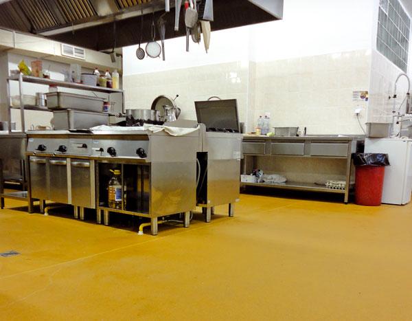 priemyselne podlahy vpotravinarskej vyrobe