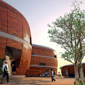 projekt univerzity v gambii od atelieru sn248hetta