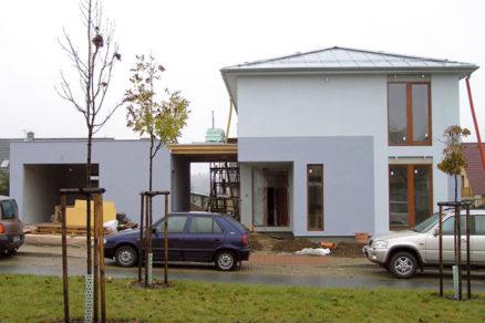 Realizácia nízkoenergetického rodinného domu
