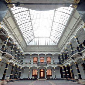 rekonstrukcia drevenej podlahy muzea martin gropius bau