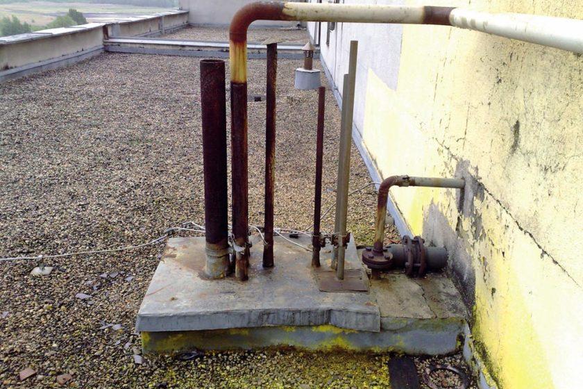 rekonstrukcia hydroizolacie striech budov vyrobneho zavodu