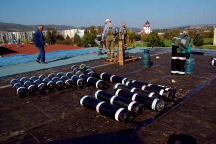 Rekonštrukcia strechy nad bazénovou halou základnej školy vStropkove