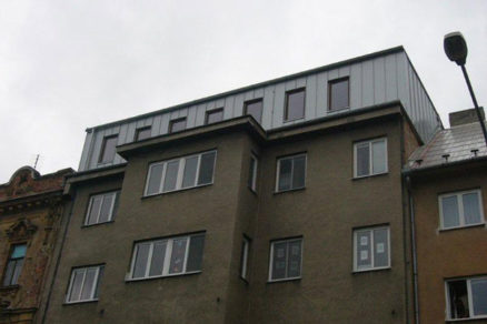 rekonstrukcia strechy strediska socialnej prevencie v olomouci