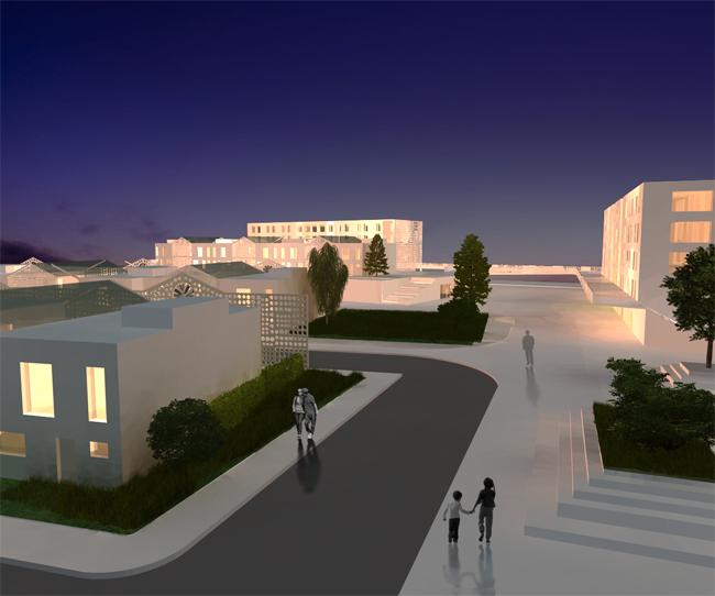 rozvoj mestskej casti v mannheime