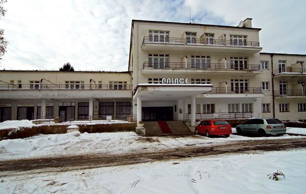 Rudolf Stockar: Kúpeľný dom na Sliači