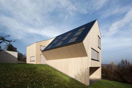Slnečný dom - prvý rakúsky CO2 neutrálny rodinný dom