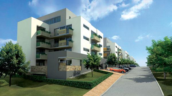 Slnko aj výhľad: Bytové domy na Čermáni v Nitre