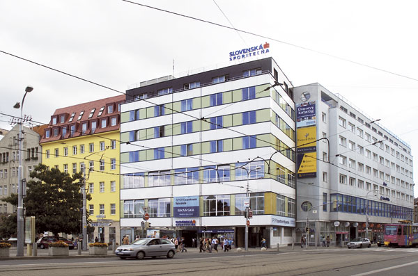 Slovenská sporiteľňa v Bratislave