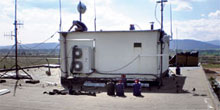 Stabilizácia strechy prevádzkovej budovy medzinárodného letiska vPoprade