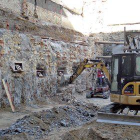 staticke zabezpecenie objektu a stavebnej jamy