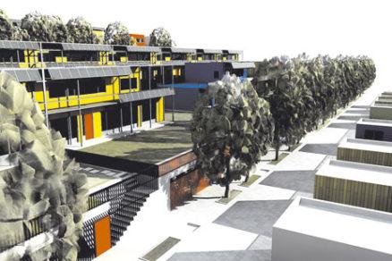 Študentská sútaž Isover Architectural Contest 2007