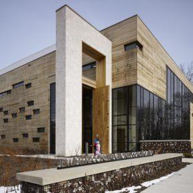 synagoga v evanstone s certifikatom leed platinum