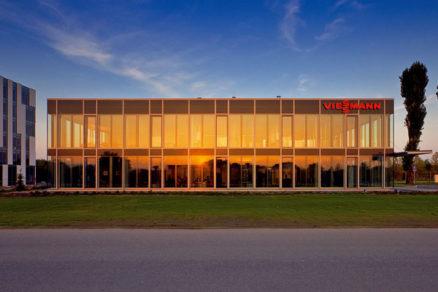 Technológia 21. storočia v novom sídle firmy Viessmann v Bratislave
