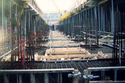 Technológia betonáže masívnych konštrukcií
