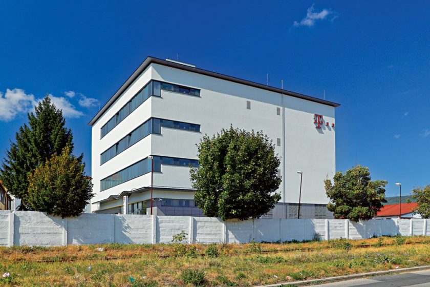 telekom datacenter v bratislave