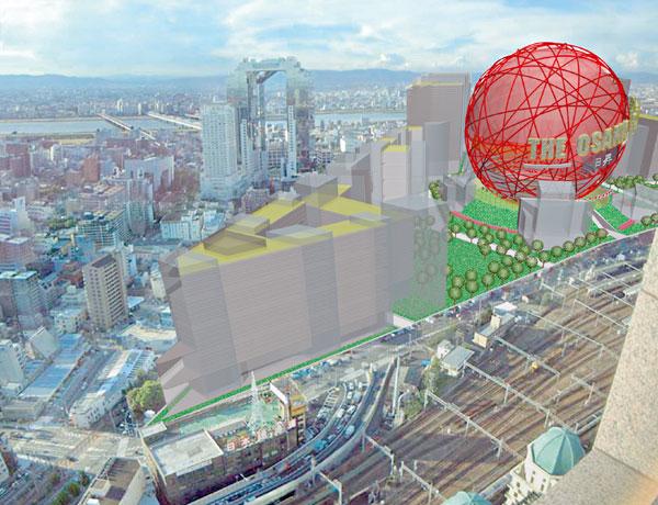 The Osaka Place – projekt nového spoločenského centra od slovenského architekta Petra Lizoňa