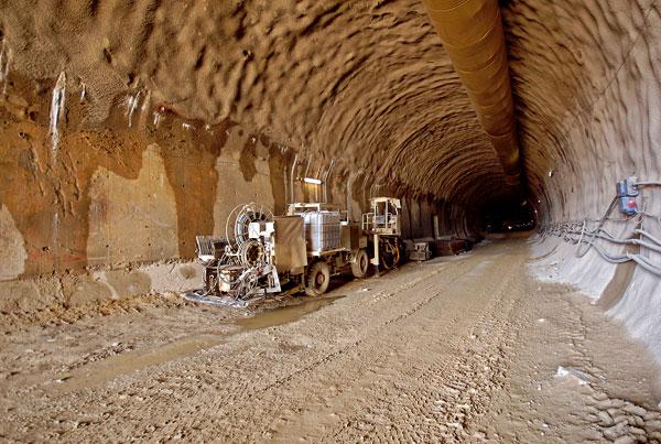 Tunel Bôrik na diaľničnom úseku D1 Mengusovce – Jánovce
