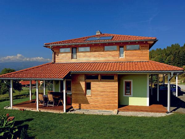 Výber krytiny na šikmé strechy